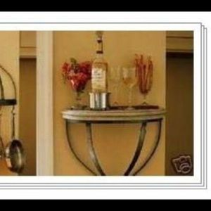NIB Southern Living Double Duty Pot Rack and shelf